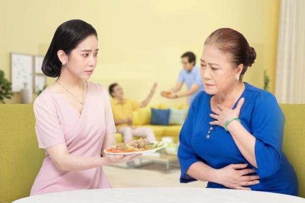 Giải pháp dinh dưỡng cho những vấn đề tiêu hóa của người cao tuổi