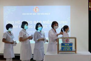 Bệnh viện Việt Nam – Thụy Điển Uông Bí: Hướng về miền Trung ruột thịt
