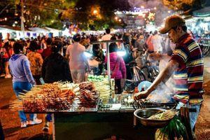 Vẻ đẹp của khu chợ đêm Đà Lạt