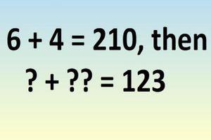 Bài toán IQ: Vì sao 6 + 4 = 210
