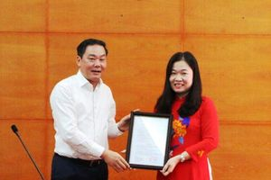 Bà Phạm Thị Thanh Hương được bổ nhiệm Phó Giám đốc Sở Tư pháp Hà Nội