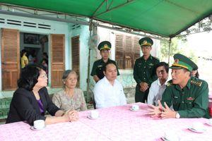 Phó Chủ tịch nước làm việc tại huyện Đắk Tô (Kon Tum)