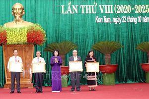 Phong trào thi đua ở Kon Tum tập hợp được đông đảo quần chúng