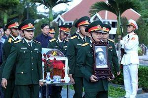 Truy điệu và an táng Anh hùng LLVT nhân dân, liệt sĩ Nguyễn Ngọc Bảo