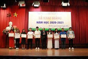 Học viện Báo chí và Tuyên truyền tổ chức lễ khai giảng năm học 2020-2021
