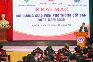 Trường ĐH Vinh bồi dưỡng gần 250 giáo viên cốt cán bậc THPT