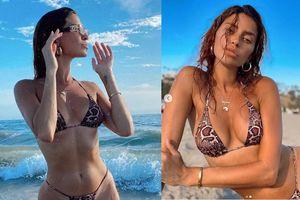 'Mỹ nhân nóng bỏng nhất Canada' mặc bikini bé xíu tôn đường cong tuyệt mỹ