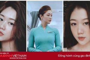 Nữ tiếp viên hàng không được khuyên nên thi Hoa hậu, đẹp lạ khó ai bì
