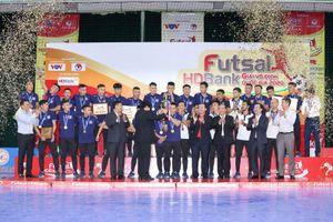Giải Futsal HDBank vô địch quốc gia 2020: Kết thúc thành công cùng lực lượng cầu thủ trẻ