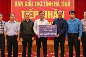 Bộ GTVT hỗ trợ khẩn cấp 400 triệu cho người dân Hà Tĩnh, Quảng Bình