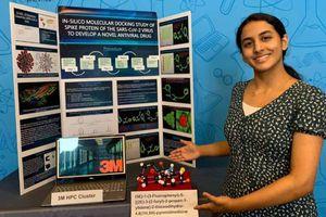 Cô bé 14 tuổi tìm ra phương pháp chữa COVID-19 tiềm năng