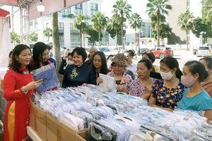 Hà Nội: Khai mạc Hội chợ hàng Việt Nam được người tiêu dùng yêu thích