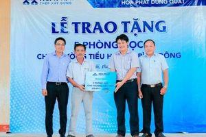 Hòa Phát đã dành 15 tỷ đồng cho hoạt động an sinh xã hội tại Quảng Ngãi
