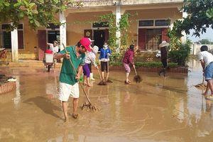 Quảng Bình: Tích cực khắc phục hậu quả sau mưa lũ