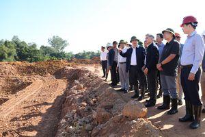 Phó Chủ tịch UBND TP kiểm tra tiến độ dự án khu xử lý rác thải Nam Sơn giai đoạn 2