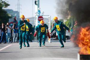 240 vận động viên tham gia tranh tài chữa cháy, cứu nạn, cứu hộ
