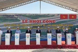 Thanh Hóa: Khởi công tuyến đường chào mừng Đại hội Đại biểu Đảng bộ tỉnh lần thứ XIX
