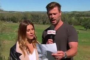 Chris Hemsworth muốn làm BTV thời tiết