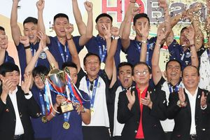 Thái Sơn Nam đăng quang giải futsal VĐQG lần thứ 5 liên tiếp
