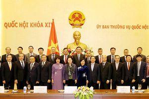 Chủ tịch Quốc hội Nguyễn Thị Kim Ngân tiếp các đại sứ, trưởng cơ quan đại diện Việt Nam tại nước ngoài