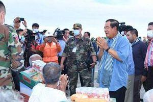 Thủ tướng Campuchia kêu gọi các định chế tài chính có chính sách hỗ trợ người dân bị ảnh hưởng bởi mưa lũ
