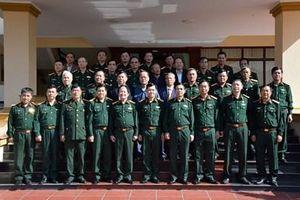 Thượng tướng Phan Văn Giang dự gặp mặt truyền thống kỷ niệm 47 năm Ngày thành lập Quân đoàn 1