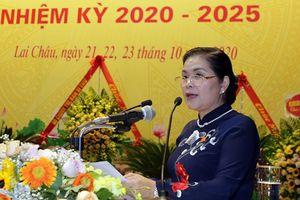 Bà Giàng Páo Mỷ tái đắc cử Bí thư Tỉnh ủy Lai Châu