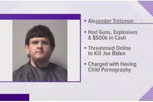 Bắt giữ nam thanh niên 19 tuổi tàng trữ súng, thuốc nổ, âm mưu 'ám sát ông Biden'