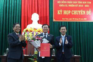 HĐND tỉnh Kon Tum kiện toàn chức danh lãnh đạo tỉnh