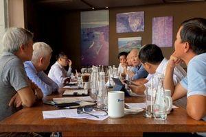 Lãnh đạo VPA làm việc tại Chi hội Dầu khí thành phố Hồ Chí Minh