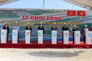 Khởi công đường nối Thành phố Thanh Hóa với Cảng hàng không Thọ Xuân