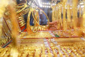 Giá vàng trong nước sụt giảm trong phiên cuối tuần