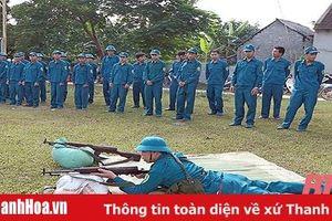 Tặng Bằng khen cho 20 tập thể, cá nhân trong việc nâng cao chất lượng của lực lượng dân quân tự vệ