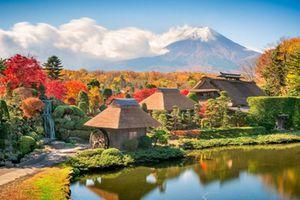 Cung đường mùa thu Nhật Bản