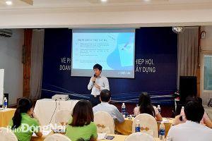 Tập huấn kiến thức phòng vệ thương mại cho doanh nghiệp