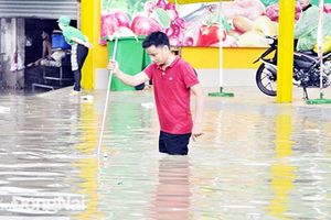 Đề phòng mưa lớn, nước dâng cao