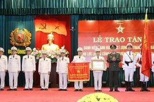 Lực lượng CAND chi viện chiến trường miền Nam nhận danh hiệu Anh hùng LLVTND