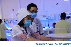 Một bé gái bị bỏ rơi ở Bệnh viện Sản Nhi Yên Bái