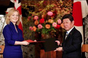 Anh và Nhật bản ký kết thỏa thuận thương mại tự do
