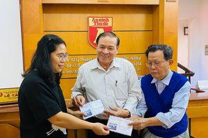 Bạn đọc Báo An ninh Thủ đô tiếp tục ủng hộ đồng bào miền Trung
