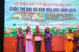 Trao giải cuộc thi Đại sứ văn hóa đọc năm 2020