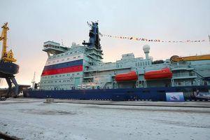 Tàu phá băng hạt nhân mạnh nhất thế giới của Nga