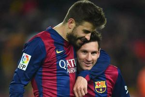 Pique: 'Barca nên lấy tên Messi đặt cho sân vận động mới'