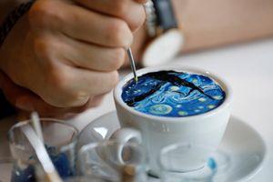 Tuyệt tác nghệ thuật trên ly cà phê