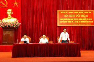 Huyện Thanh Oai đối thoại, giải đáp kiến nghị của người dân