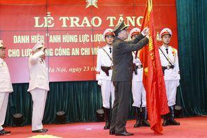 Lực lượng Công an chi viện chiến trường miền Nam đón nhận danh hiệu Anh hùng LLVTND