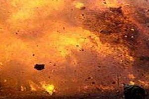 Hình ảnh Nga cho nổ tung điểm buôn lậu dầu ở miền bắc Syria