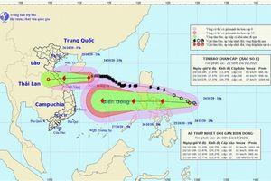 Áp thấp mạnh lên thành bão sẽ ảnh hưởng đến Trung Bộ, Tây Nguyên