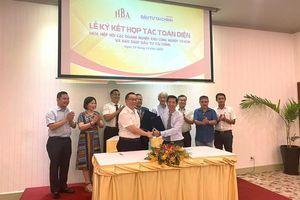 Báo ĐTTC ký kết hợp tác toàn diện với HBA