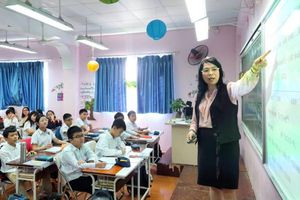 Tiết dạy Toán đặc biệt của Q. CTHĐQT trường Pascal